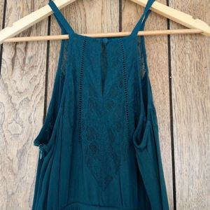 Kendall & Kylie Dresses - Kendall & Kylie Teal Green Lace Dress